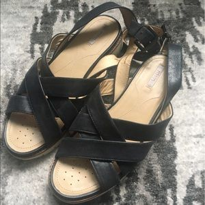 Geox Respira Ankle Strap Sandals 9.5